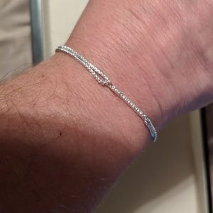 Stella and Dot Silver Bracelet